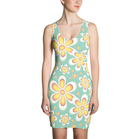 Clara Flowers All-Over - Women´s Dress - KICKI´S SHOP