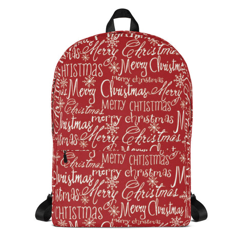 Merry Christmas All Over - Backpack - KICKI´S SHOP