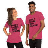 Make It Happen Shock Everyone - T-Shirt - KICKI´S SHOP