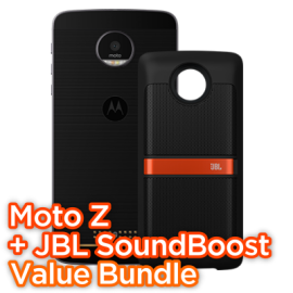 Moto Z SoundBoost Bundle