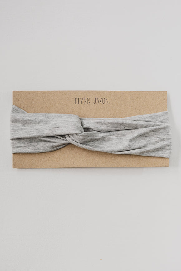 ADULT HEADBAND - LIGHT GREY - Flynn Jaxon