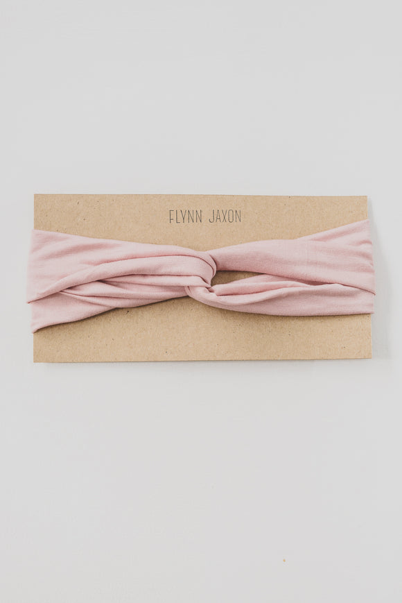 ADULT HEADBAND - DUSTY PINK