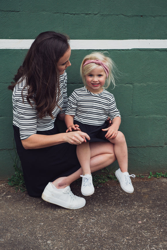 EVERYDAY DRESS - CLASSIC STRIPE - Flynn Jaxon