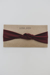 HEADBAND - STELLA (Burgundy)