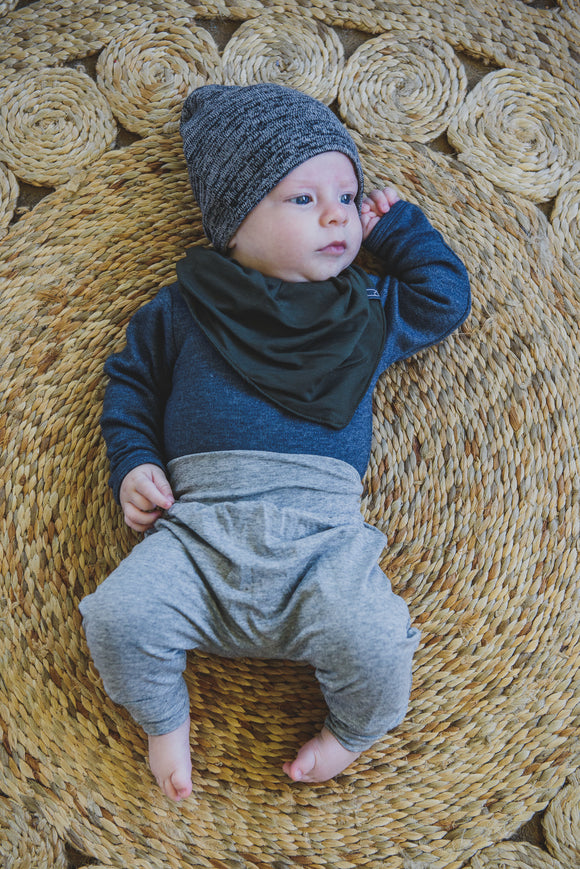 BABY VEST - DENIM LONG SLEEVE - Flynn Jaxon