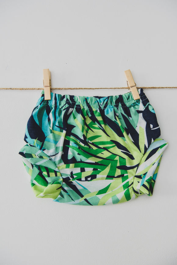 SHORTIE - JUNGLE (Navy+Green)