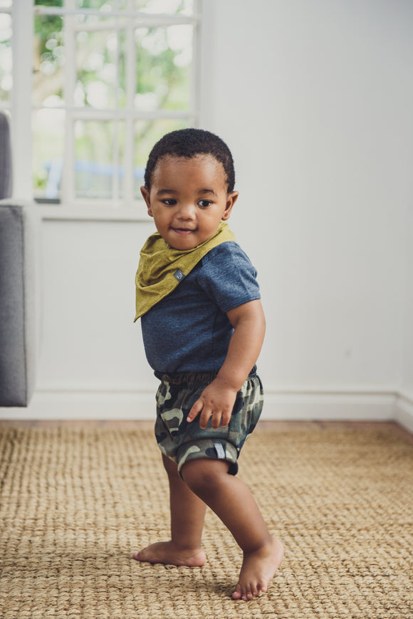 BABY VEST - DENIM SLEEVED - Flynn Jaxon
