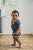BABY VEST - DENIM SLEEVED