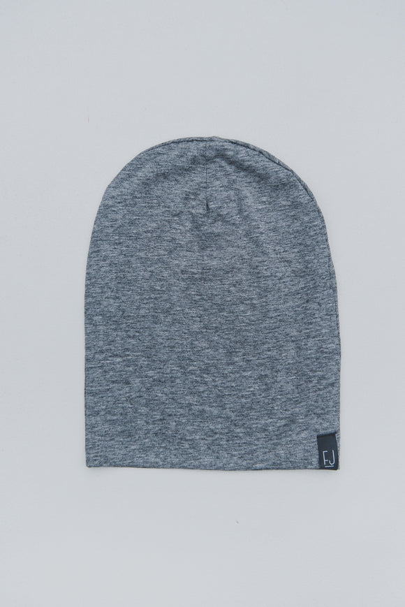 SLOUCHY BEANIE - GRAYER (Light Grey)