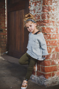 LEGGINGS - MILITARY GREEN - Flynn Jaxon