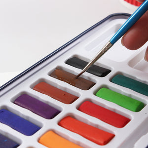 24 Color High - Quality  Watercolor Board