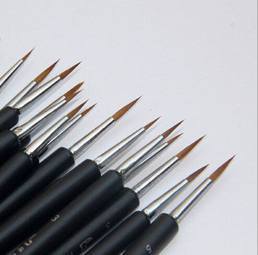 Super Thin Painting Brushes Set