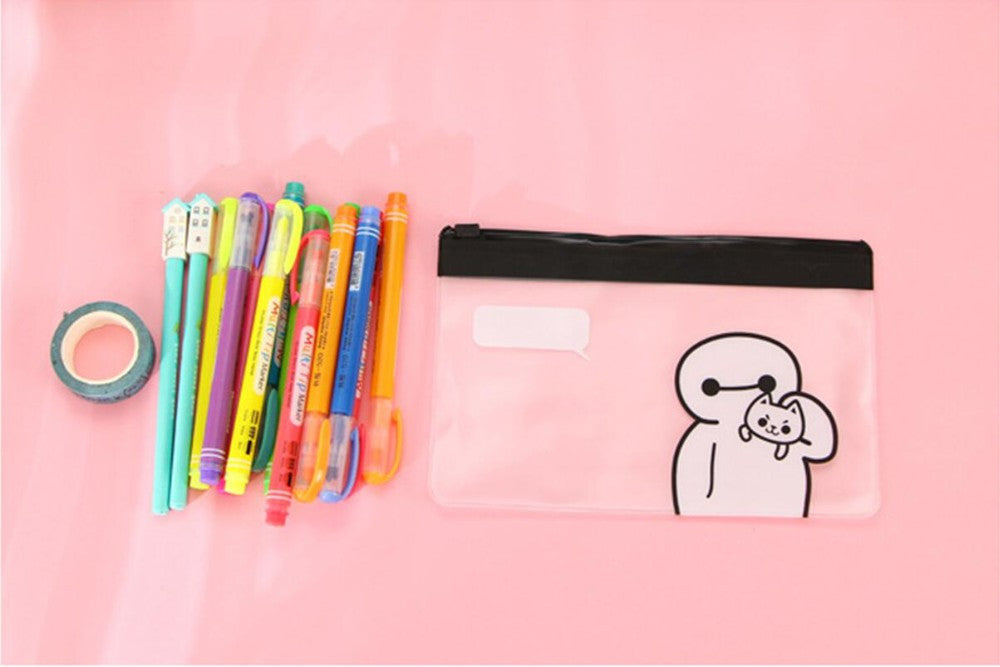 Clear Big Hero 6 Pencil Case