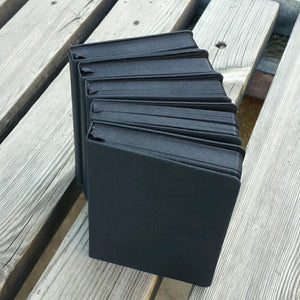 Black Thick Paper Sketchbook