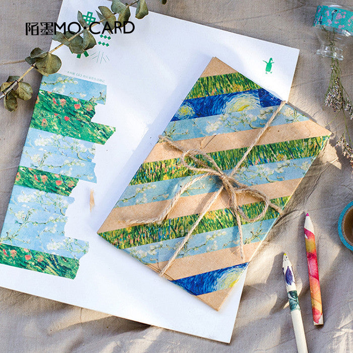 Van-Gogh Decorative Stickers 15mm*7mm