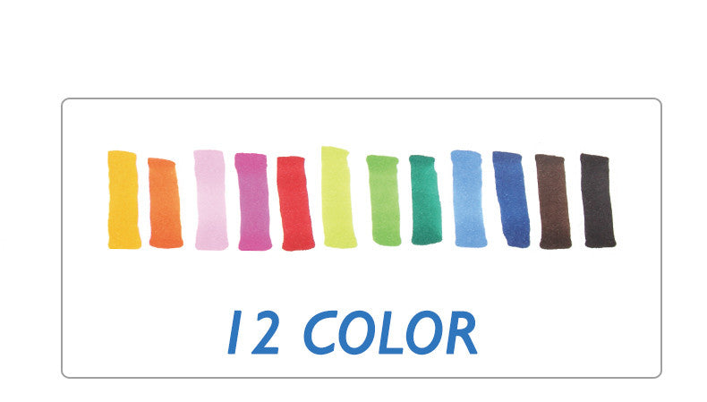 STA 12 Colors Oily Alcoholic Art Marker Set