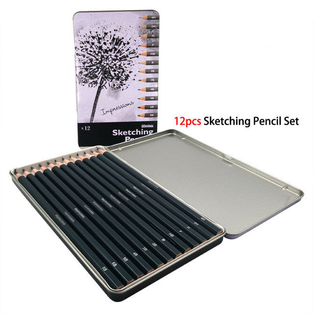Professional Sketching Pencils