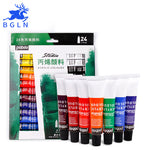 24 Colors Acrylic Paint Set