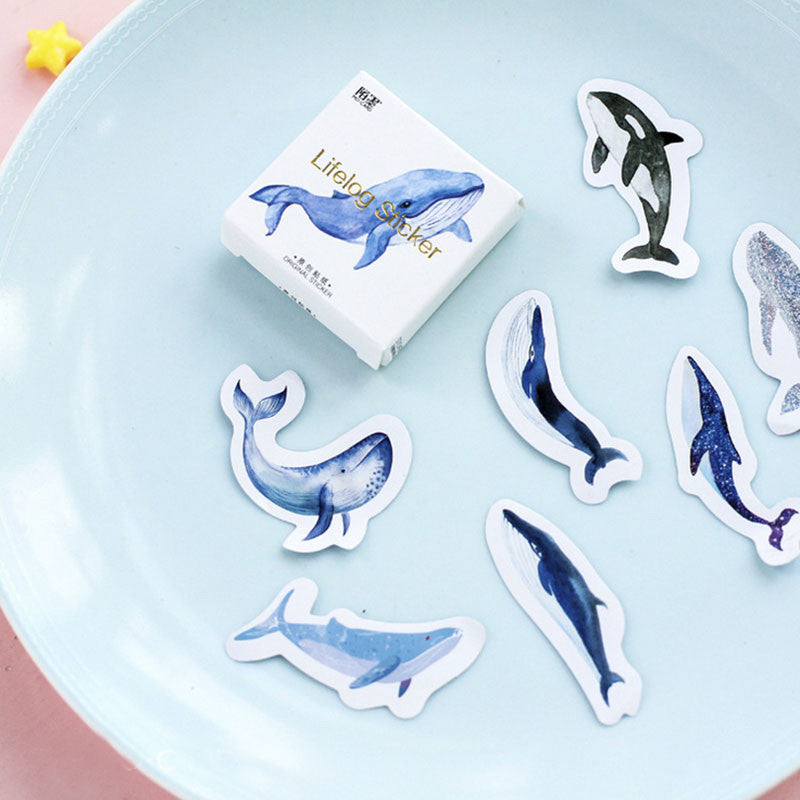 Whales Stickers
