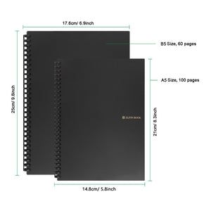 Elfin Book 2.0 - The Erasable Notebook