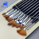 12 Pieces Paint Brushes Set