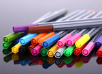 0.4 mm 24 Colors Fineliner Pens
