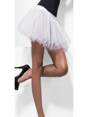 Tutu Underskirt, White, 4 Layers