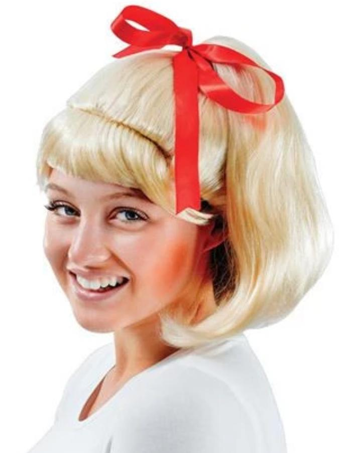 50's High School Ponytail Blonde