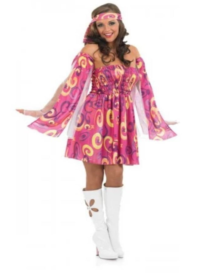 60's Swirl Dress Costume