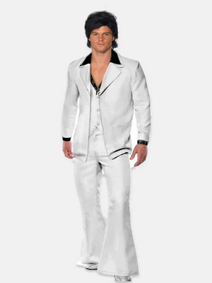 70's Mens White Suit
