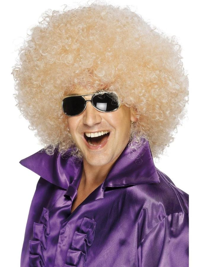 Afro Wig, Mega Huge Blonde