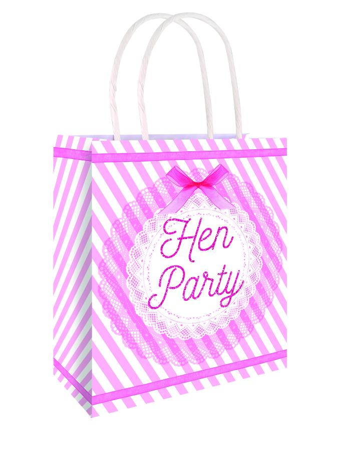 Bag Hen Party Vintage With handles 22x18x8cm