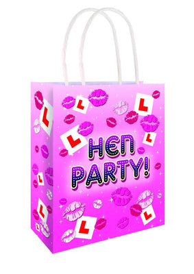 Bag Hen Party With handles 22x18x8cm