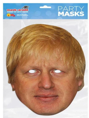 Boris Johnson Card Mask