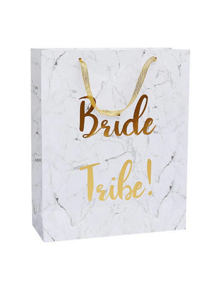 Bride Tribe Marble Gift Bag