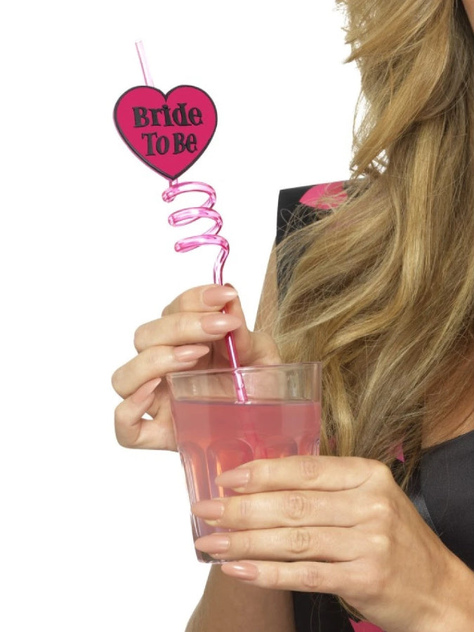 Bride to Be Drinking straw smiffys