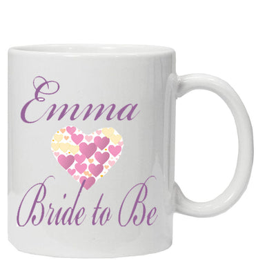 Personalised 'Bride to Be' Mug