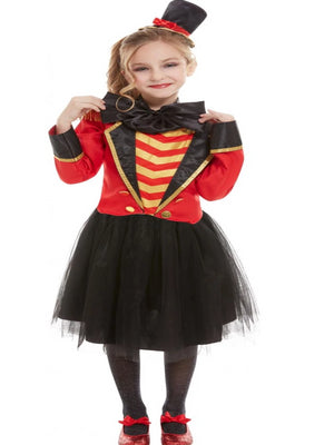 CHILD DELUXE THE GREATEST SHOWMAN RINGMASTER COSTUME