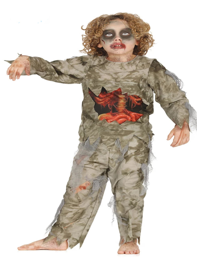 CHILD ZOMBIE BOY Costume