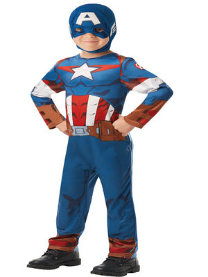 Captain America Kids Costume