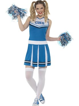Cheerleader Costume, Blue