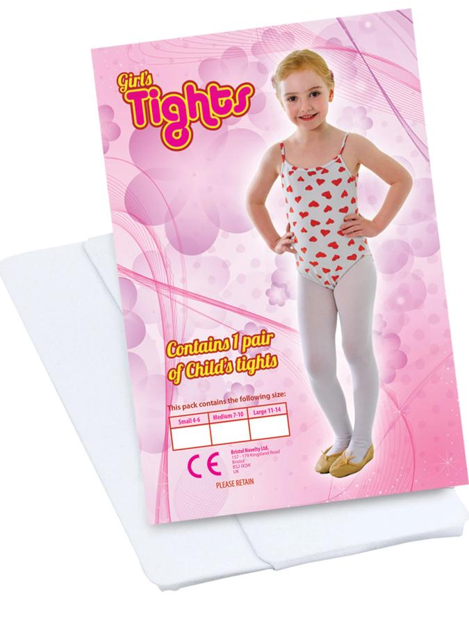 Childs Tights White
