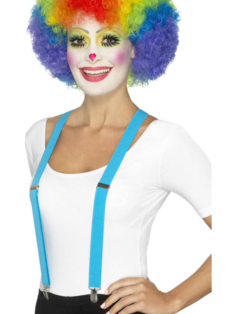 Clown braces blue