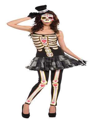 Day of the Dead TuTu Dress