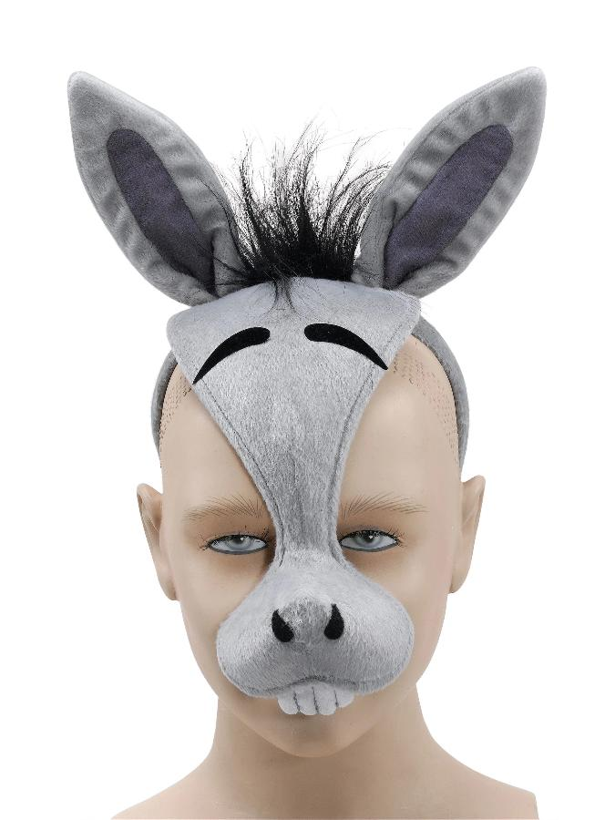 Donkey With Sound Mask