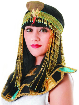 Egyptian Beaded Headpeice