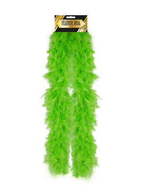 Feather Boa 150cm Pale Green