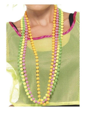 Fluorescent Beads Necklace