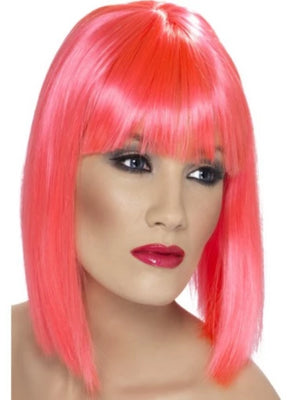 Glam Wig, Neon Pink
