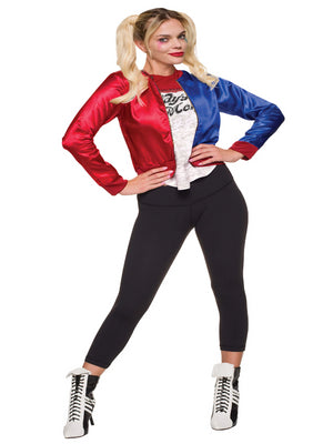 Harley Quinn Kit- Jacket With Shirt Teen